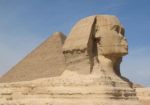 Giza - piramida i Sfinks