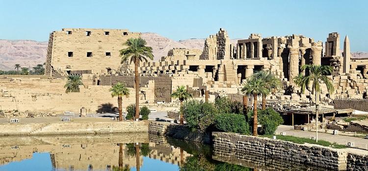 Ruiny Świątyń w Karnaku